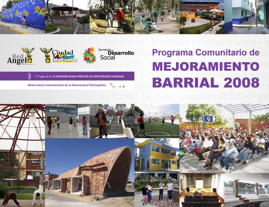 Programa Comunitario de Mejoramiento Barrial 2008